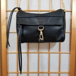 Forever 21 Vegan Leather Clasp-Front Crossbody